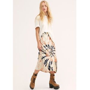 💫Free People | Serious Swagger Tie Dye Skirt